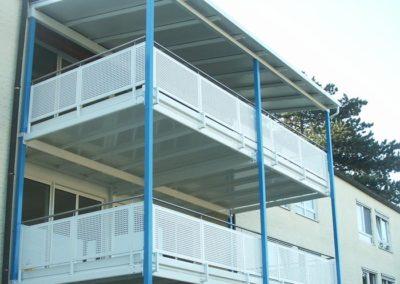 Stahlbau Balkone